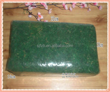 High quality green thick artificial dried moss for decoration