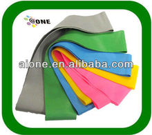 colorful aerobic resistance loop band A-B0020 plastic bow ring plastic book rings plastic bowling ring