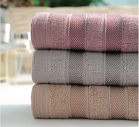 Big sales Top quality bamboo fiber bath towel 3 colors 70*140cm