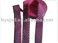 Double-layer polyester printed ribbon Tie