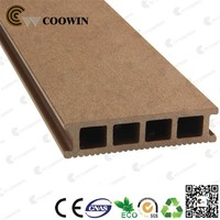 Outdoor wooden recycled plastic planks