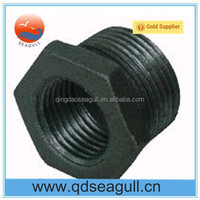 High quality Galvanized malleable iron pipe fitting bushing M&F