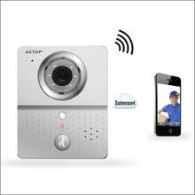 ACTOP APP to smart phone security wireless WiFi video door camera