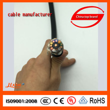 High quality Waterproof electrical cable three phase PVC insulated soft cable