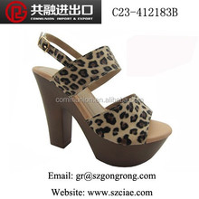 lady PU upper new design high heel fashion sexy party shoes for women