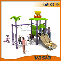 Outdoor plastic playground cheap plastic outdoor playgrounds for children