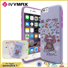 IVYMAX 2015 product fast selling cheap products cell phone covers and accessories cute case COVER FOR IPHONE 6
