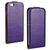 Purple Flip case for apple iphone 6