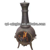 various cast aluminium chiminea