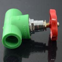 Branding Material Small Fluid Resistance PPR pressure relief valve