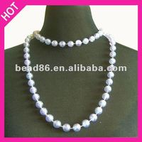 """40"""" Crystal AB wholesale artificial jewelry necklace bead factory direct bead"""