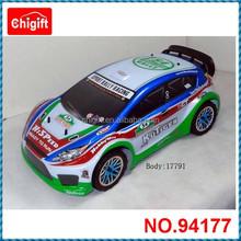 94177 1/10th Scale Professional 1/10th 4WD Nitro Power R/C Sport Rally Racing Car