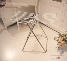 Hot sale eco-friendly clothing folding clothes hanging rail