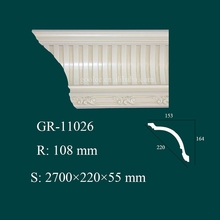 hote sale waterproof interior decor product Polyurethane architectural moldings