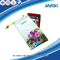 custom printed soft microfiber pouch cell phone case