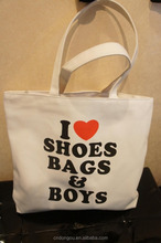 100% cotton canvas tote bags,cotton canvas fabric tote shopping bags,white bag