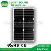 high efficiency flexible 20W solar panel with long warranty