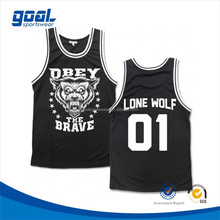 2015 Hot sell new style australian team custom black basketball shirts