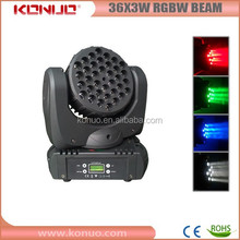 36x3w rgbw led mini beam Mac 101 style moving head