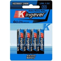 LR6 super power dry aa battery alkaline