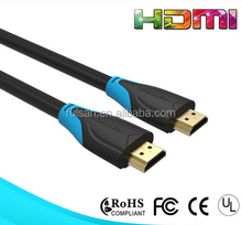 Wholesale 1080p 3D Gold Promotional Hdmi Cable 2.0 Supports 4K*2K TV