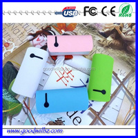 Wholesale instant portable 5200mAh power bank for smartphones with high quality