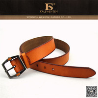 New arrival fashion high quality men leather belt auto buckle