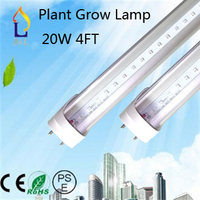 Led lighting 20W Plant grow lamp 4FT with G13 base factory price LED tube light