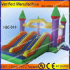 New design cheap inflatable bouncer with slide