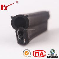 Epdm metal insertion rubber extrusion seal for auto door and window
