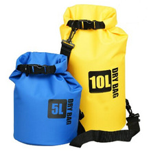 Wholesale custom logo 5L 10L 30l PVC tarpaulin floating boating karana ocean pack dry bag with valve backpack Waterproof Dry bag
