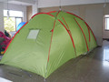 6 person two room outdoor family camping tent