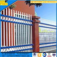 Modern Square Tube Decorative Iron Fence Price