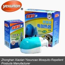 45ml mosquito repellent liquid Vaporizer,top sale liquid electric mosquito killer set ,