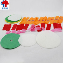 Die cut Velcro tapes molded hook and loop in dots and coins