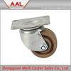 Elastic Rubber Wheel / Heavy Duty Wheel Castor Rigid Made in China 6 pu Caster Wheel