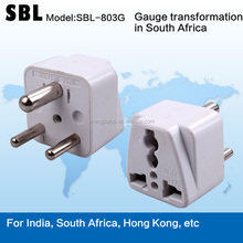 Small South African plug,Gauge transformation in South Africa,Multi-purpose conversion socket
