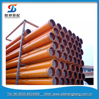 hot sale trainler mounted concrete pump 3m 4m 5m twin wall pipelines