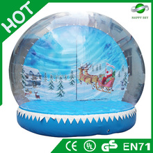 2015 Brand New Design Hot sale christmas Snow ball, White christmas commodity, supplies