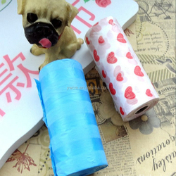 YiWu 2015 China hot sale high quality plastic dog poop bag with dispenser