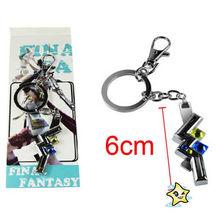 Wholesale Final Fantasy Metal Keychain key fob Charms/Locket/Small Pendant