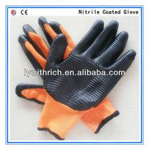 13G NYLON NITRILE COATED GLOVES/NITRILE EXAM GLOVES 36g/pair