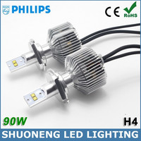 Factory Price Philips 4500lm 45W Adjustable Focus Length H4 Headlamp Auto LED