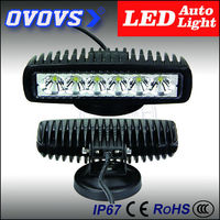 OVOVS auto part cheap18W led tractor shockproof working lights for atv