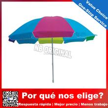 Portátil de playa paraguas de hermosa impresión