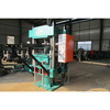High quality column type rubber vulcanizing press with sliding table
