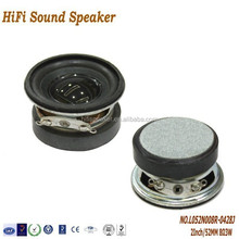 High quality 2Inch 8ohm 3W foam-edge bass multimedia audio Speaker for Portable Audio Player