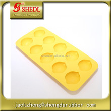 Food grade silicone ice lattice ice tools, lemon