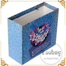 high quality customed recycled paper bag packaging package paper bag