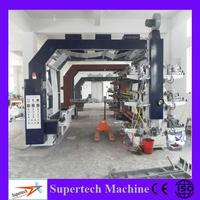 High Speed 6 Colors Polythene Bag Printing Machine